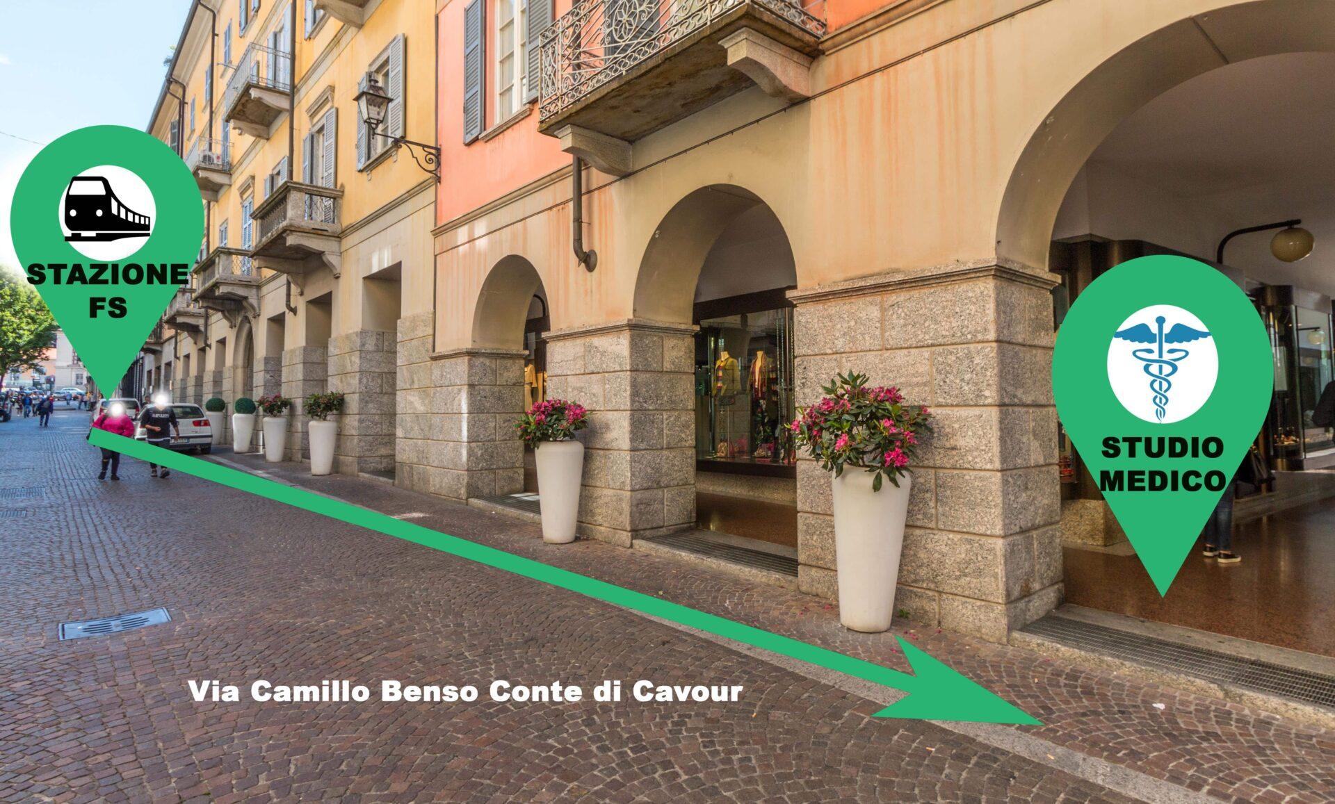 Via Cavour Studio Medico